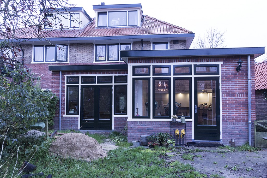 Uitbouw woonkamer - Bouwbedrijf Oldenhof Hesselink